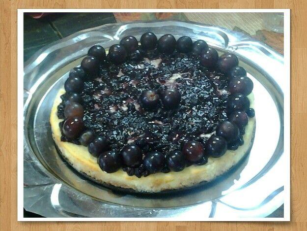 Delicioso! Cheese cake & blue berrys! Absolutamente light y sugar free para diabeticos unpostre o TORTA DE CUMPLE! Ideal!
