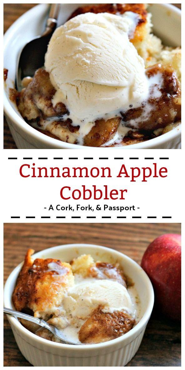 Cinnamon Apple Cobbler