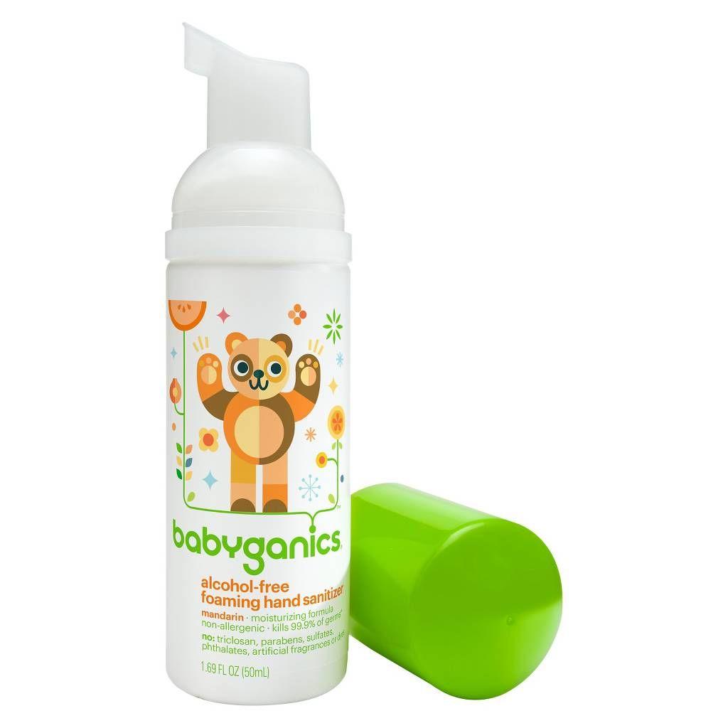 On The Go Sanitizer Babyganics Hand Sanitizer Alcohol Free