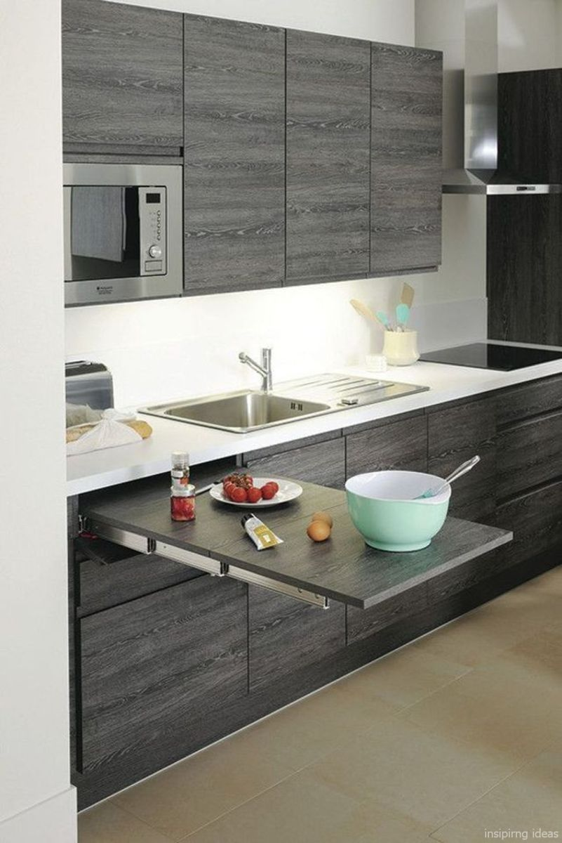 24 Awesome Small Modern Kitchen Design Ideas Kitchen Remodel