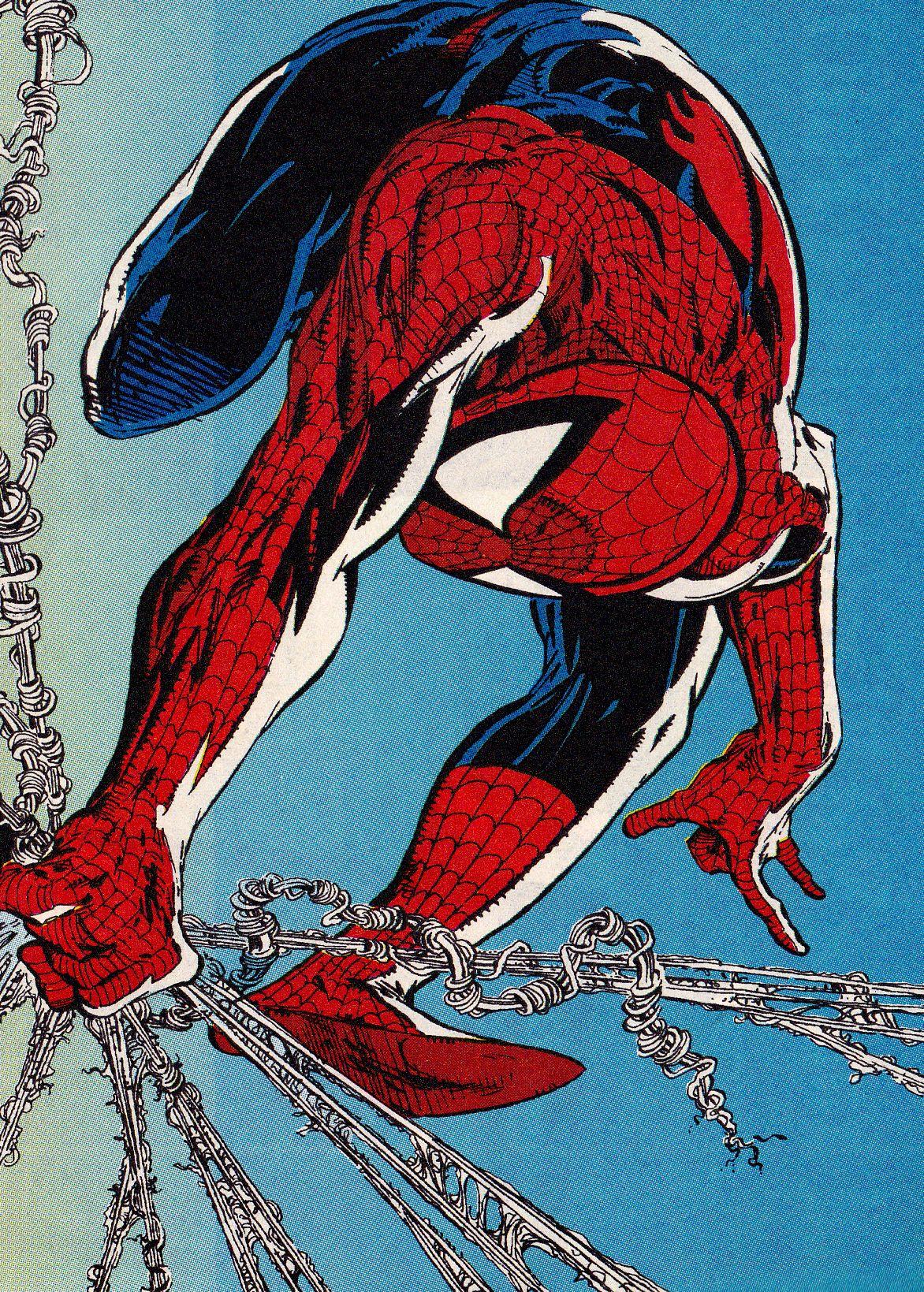 Spider-man Todd Mcfarlane Spiderman Marvel Comics Art