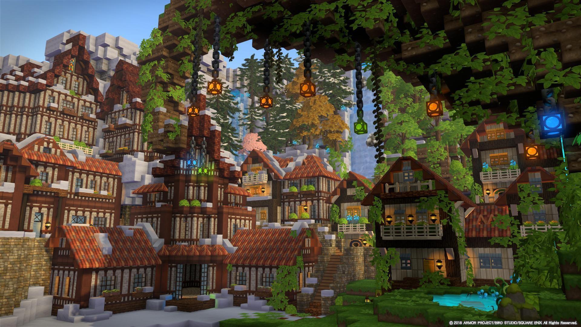 Builders Gallery Dragon Quest Builders 2 Square Enix 2020