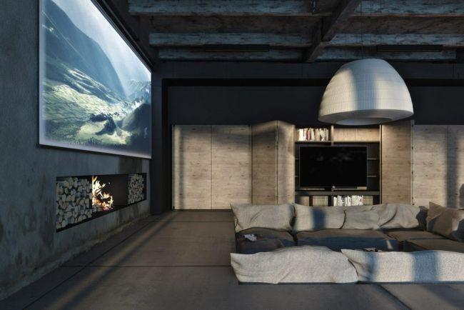 Badezimmer Beton Badewanne-Blick Ozean-Villa | Sauna | Pinterest ...