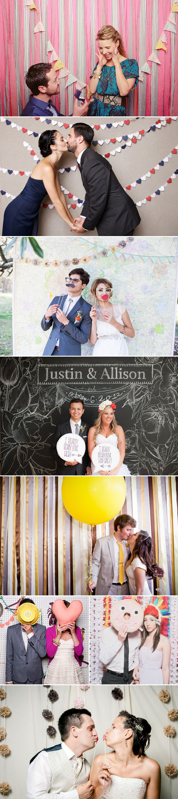 26 Unique & Creative Photo Booth Ideas