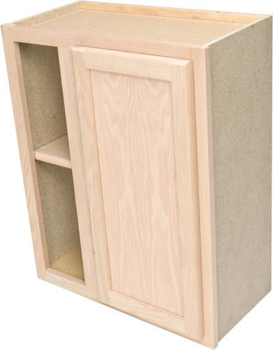 Perfect Quality One™ X Unfinished Oak Reversible Blind Corner Wall Cabinet At  Menards®