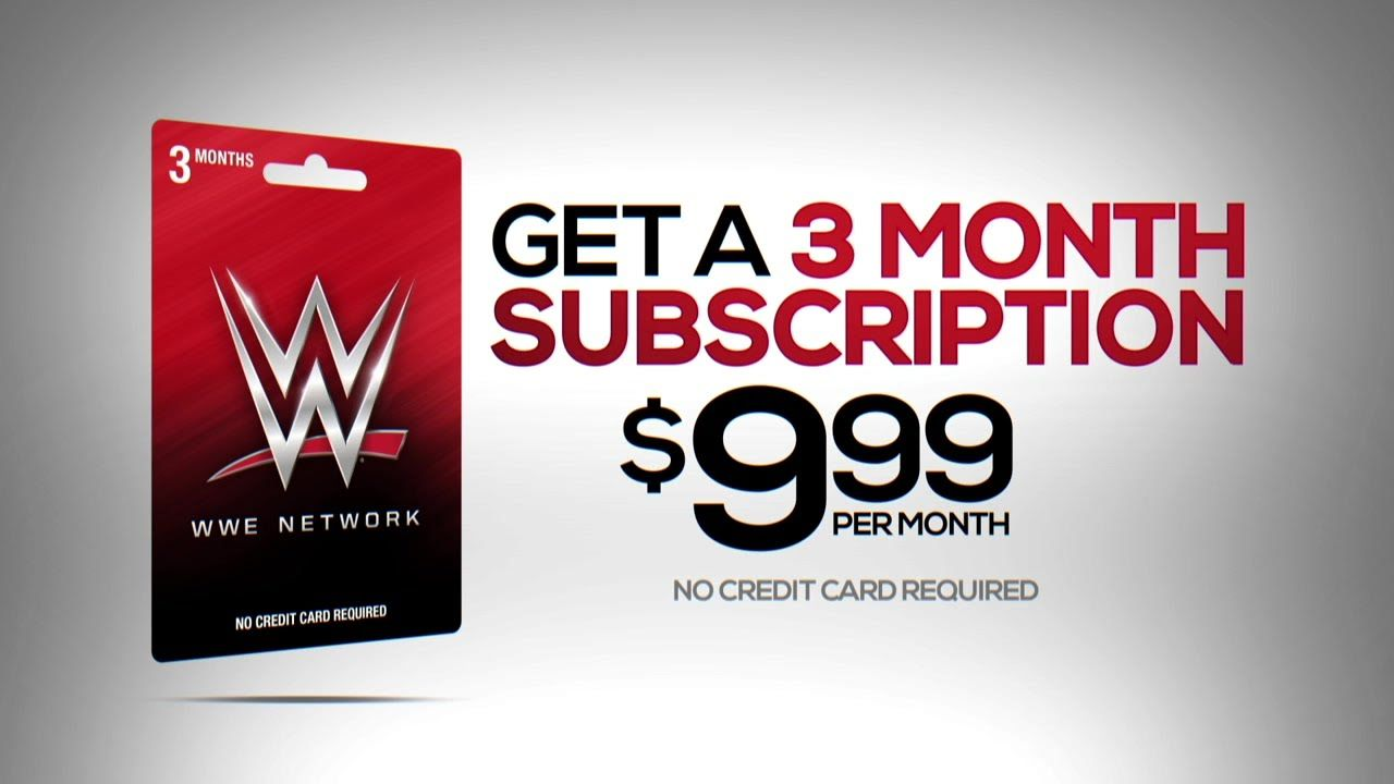 Get the WWE Network Gift Card - Now Available at Walmart and ...
