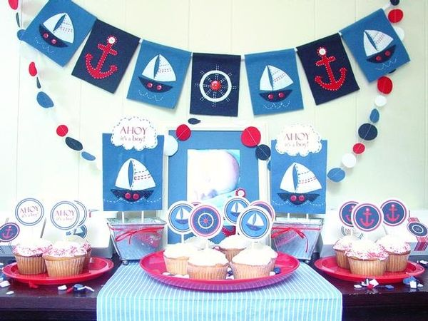 Nautica Baby Shower Favors | Love Laugh And Plan: Nautical Theme Baby Shower