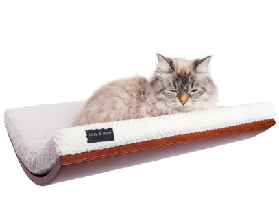 cat bed wall shelf
