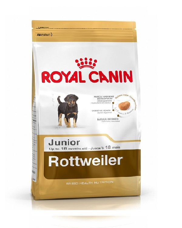 Buy Royal Canin Rottweiler Junior 12 Kg Royal Canin Dog Food In India Royal Canin Dog Food Dog Food Recipes Dog Food Online