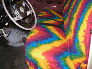 Tie dye car | Tie Dye Car Seat Covers | If I had a million dollars ...