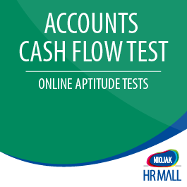 NIFT Accounting Cash Flow Test determines whether your candidate has the Ability, Skill & Knowledge about: General Cash Flow Statements Cash Flow Classification Cash Flow Cycle & Effect on Cash Cash Flow and Equity Cash Flow and Debt Financing Cash Flow Transactions Calculating Cash Flow Numerical Ability
