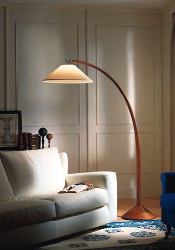 Lampada Da Terra Ad Arco Per La Decorazione Della Casa
