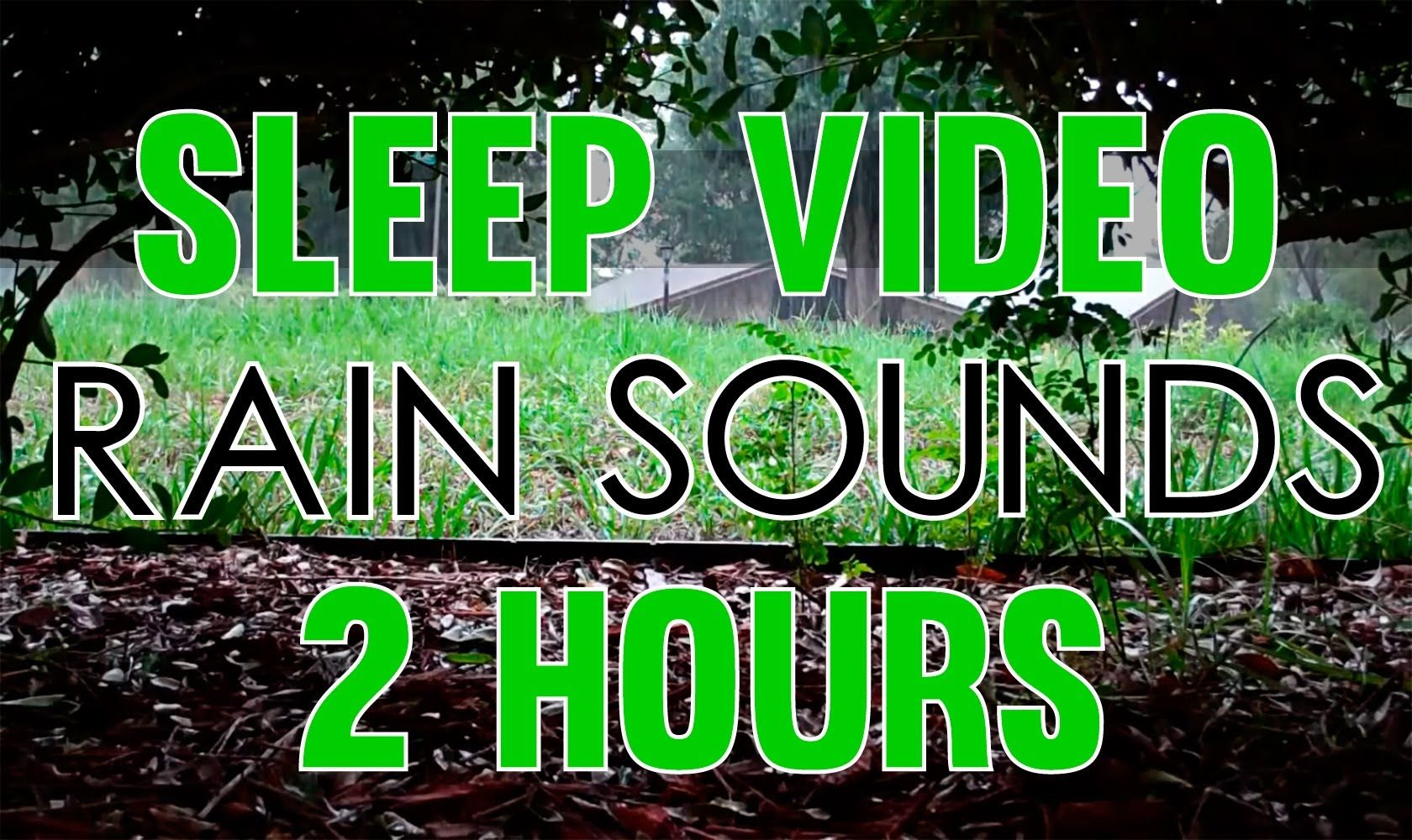 Rain Sounds 2 Hours Sleep Video Heavy Rain Sounds Hd Sound Of Rain Rain And Thunder Sounds Rain And Thunder