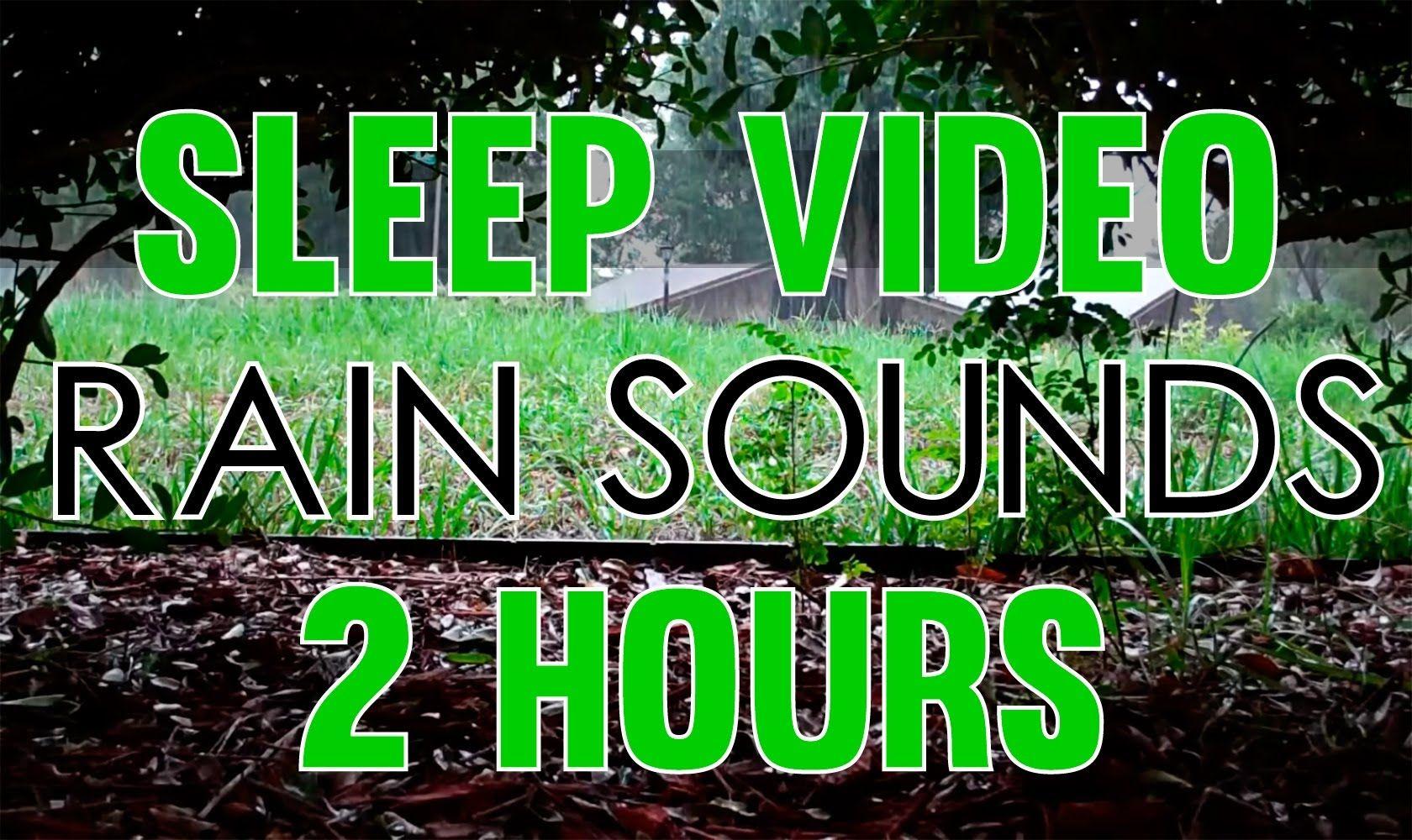 Rain Sounds 2 Hours Sleep Video Heavy Rain Sounds Hd Sound Of Rain Rain And Thunder Sounds Rain And Thunder