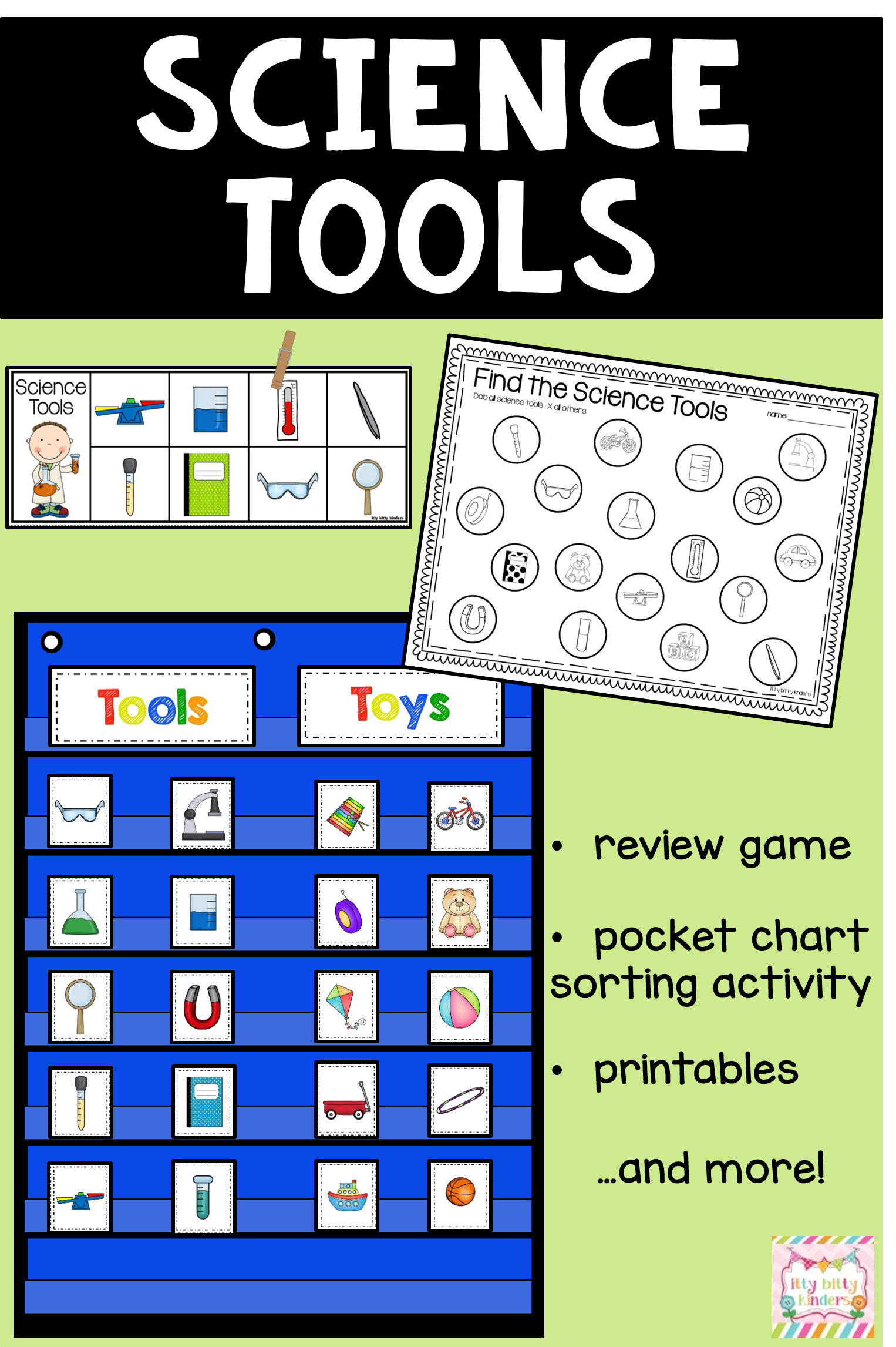 Science Tools And Safety For Kinders Back To School