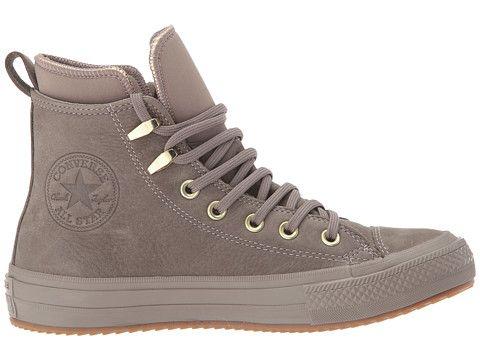 Marques Chaussure homme Converse homme Chuck Taylor WP Boot Nubuck Hi Black/black/gum