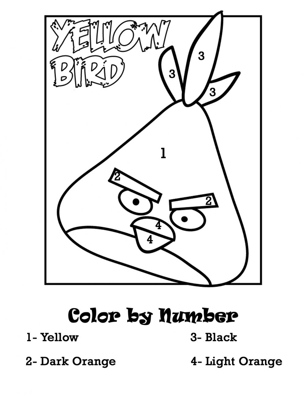 color by number angrybirds