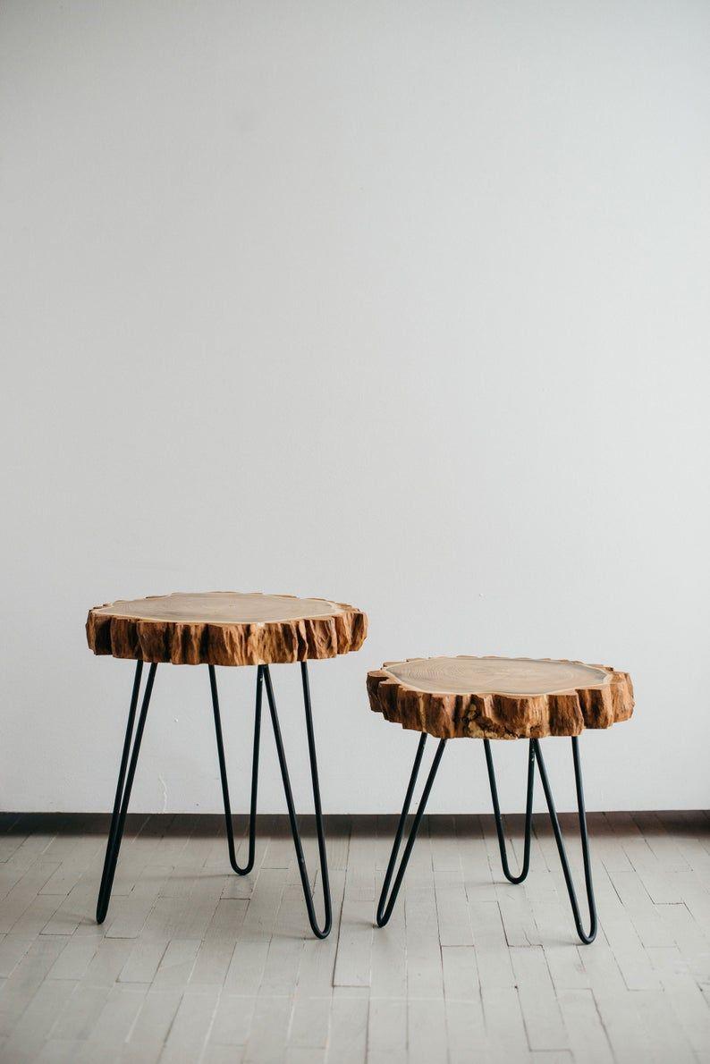 Coffee table live edge coffee table rustic coffee table