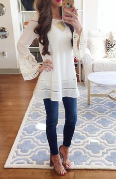 6e6ac639ab0 Casual and Dressy Tunic Tops for Everyday Wear - Outfit Ideas HQ