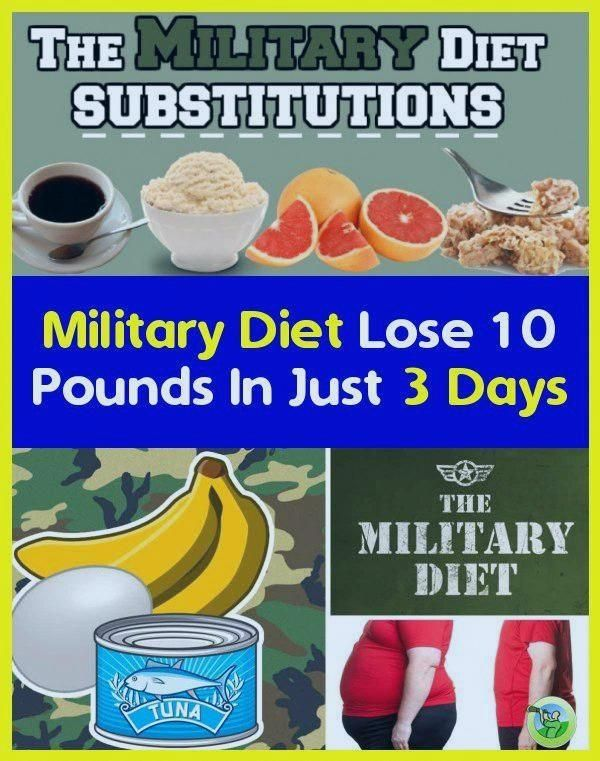 Military Diet Lose 10 Pounds In Just 3 Days: Military Diet: Loose 10 Pounds For Just Three Days #diet