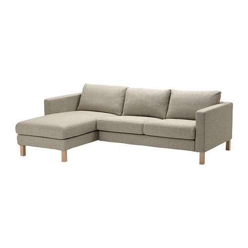 Ikea Karlstad Corner Sofa: KARLSTAD Two-seat Sofa And Chaise Longue