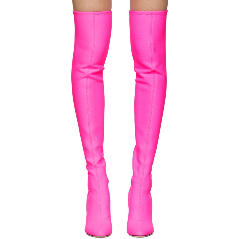 566c0fdd5fa94 Giuseppe Zanotti - Pink Bimba Over-the-Knee Boots | Nancy Sinatra ...