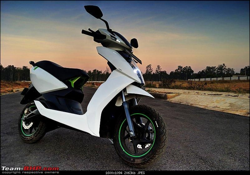 Ather 450 Electric Scooter Detailed Review
