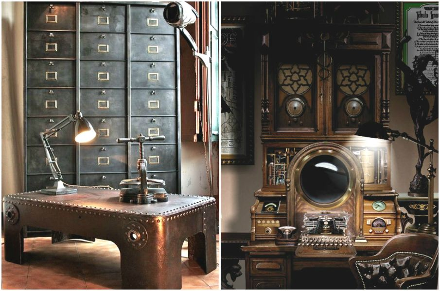 Wonderful 17+ Steampunk Bedroom Decoration Ideas And Tips For You