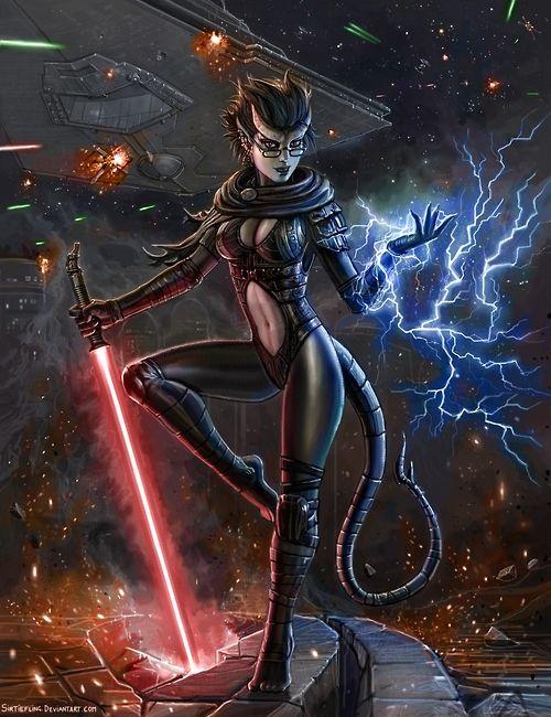 Dark Jedi Ling By Sir Tiefling Star Wars Star Wars