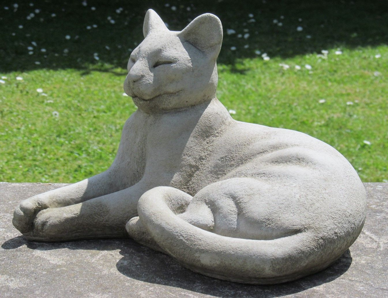 The Lounging Cat Statue One Of Our Large Cat Collection Cat