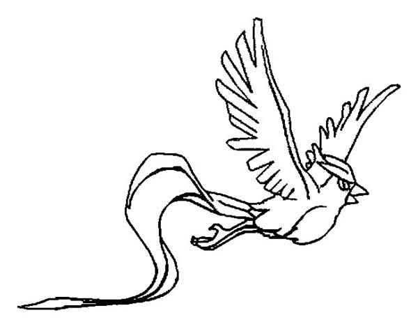 Picture Of Flying Articuno Coloring Page Coloring Sun Coloring Pages Articuno Color