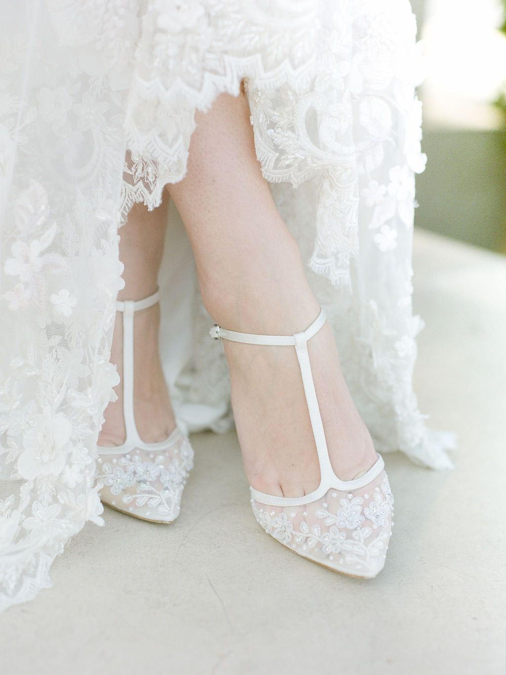 Flower Beaded Wedding Shoes In 2020 Wedding Shoes Heels Ivory Wedding Shoes Wedding Shoes Comfortable