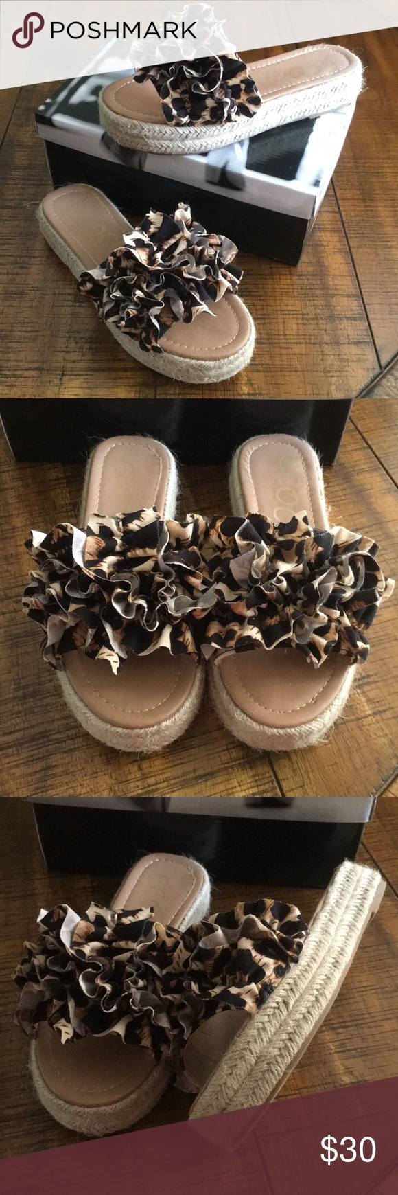 Walk on the Wild Side Sandals by Ccocci