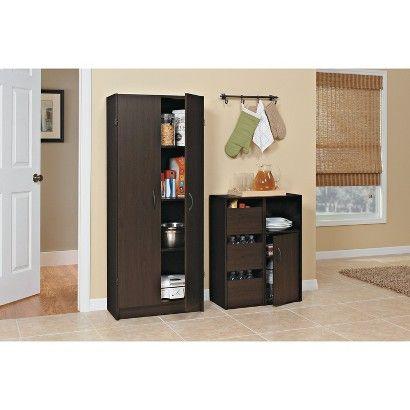Target Closetmaid Pantry Cabinet Espresso Image Zoom Kitchen