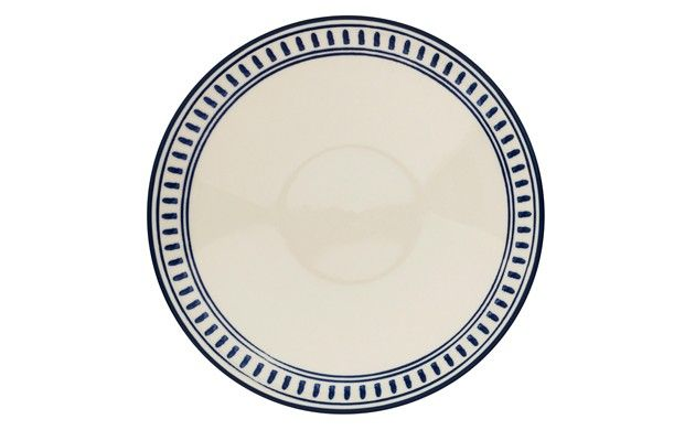 Moroccan blue dash dinner plate | Sainsburys | g l a s s w a r e ...