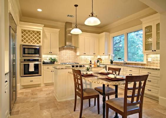 Traditional Kitchen By Austin Interior Design Firm Noble Design.