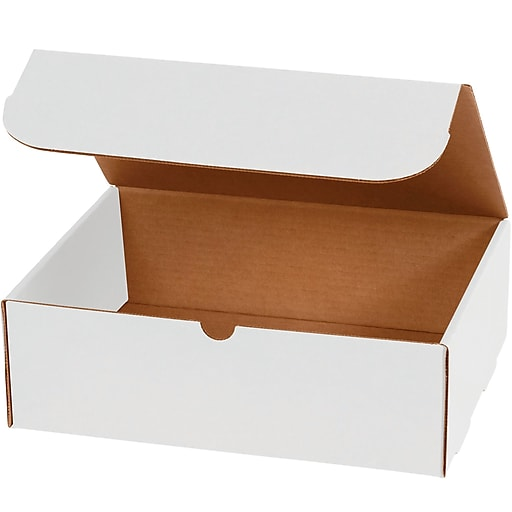 Partners Brand Corrugated Mailers 10 X 7 X 4 White 50 Bundle M1074 At Staples In 2020 Corrugated Box Corrugated Packing Boxes