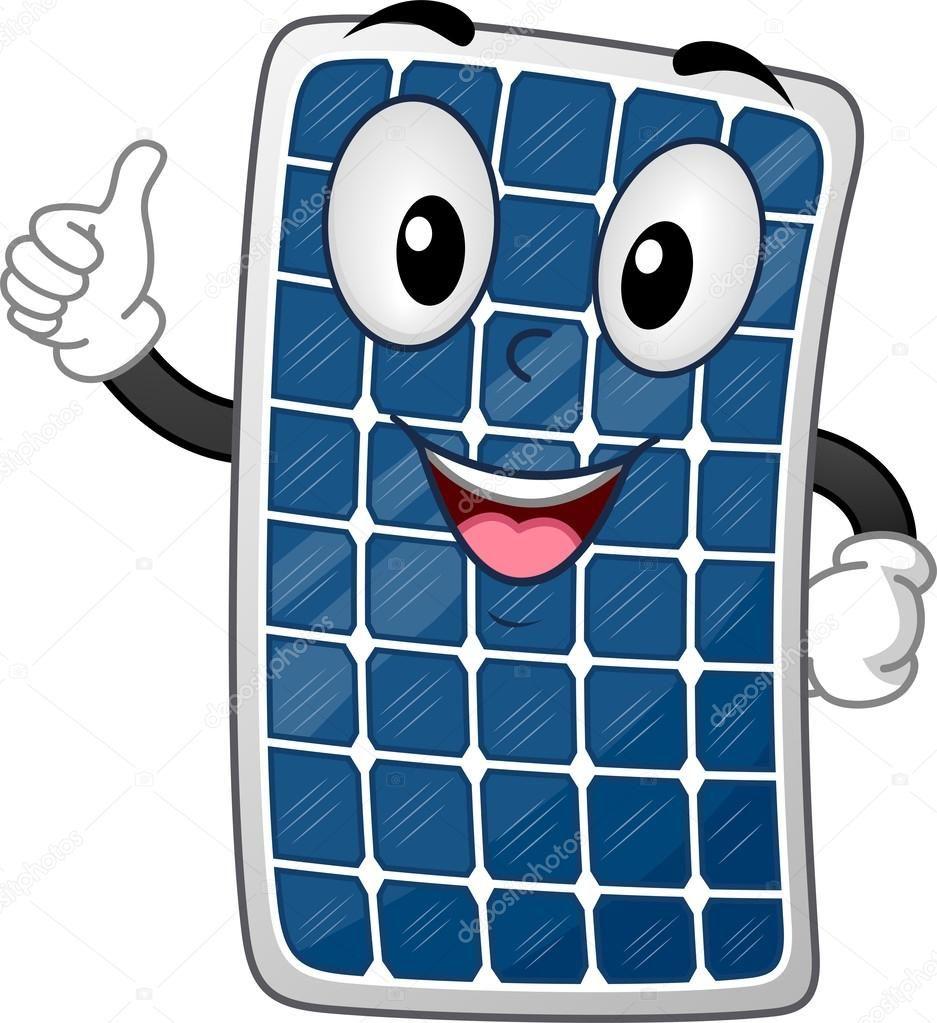 Solar Panel Mascot Royalty Free Stock Photos Ad Mascot Panel Solar Royalty Ad Painel Solar Energia Solar Empresas De Energia Solar