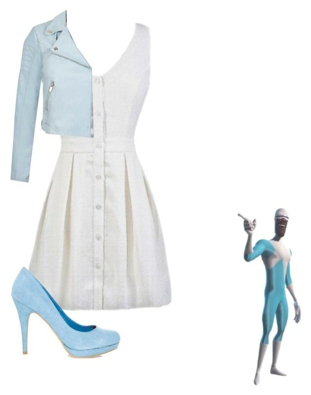 """""""Frozone"""" by srabniky ❤ liked on Polyvore featuring Off-White and Miss Selfridge"""