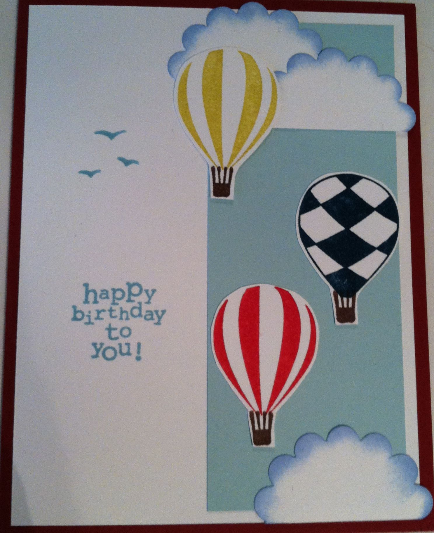 balloons & clouds