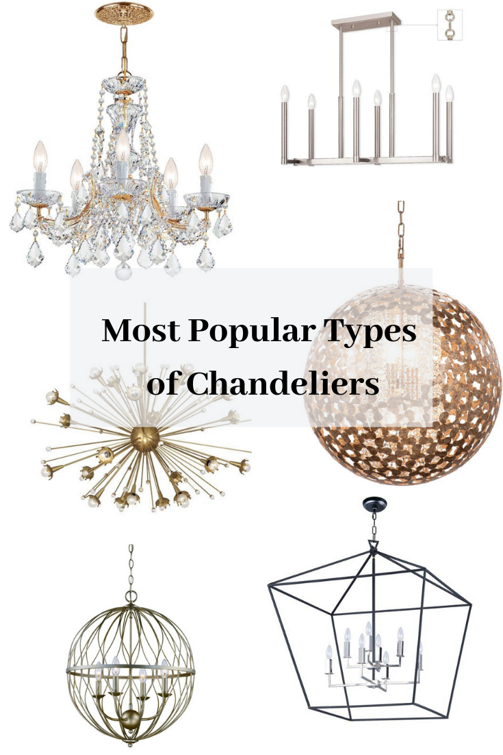 Types Of Chandeliers Chandeliers Chandelier Starburst