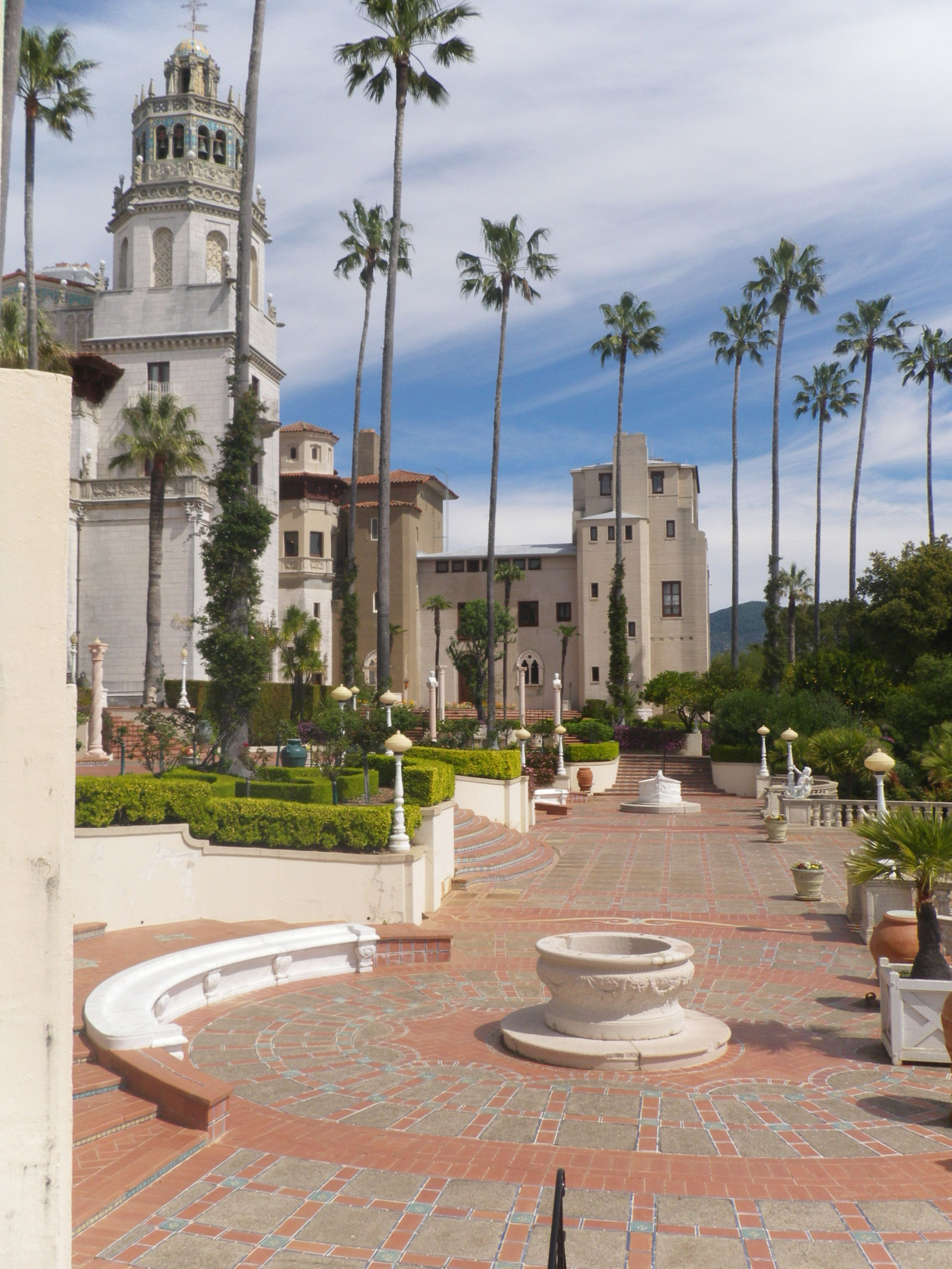 Medley Of Maddie Places To Go California Travel Hearst Castle