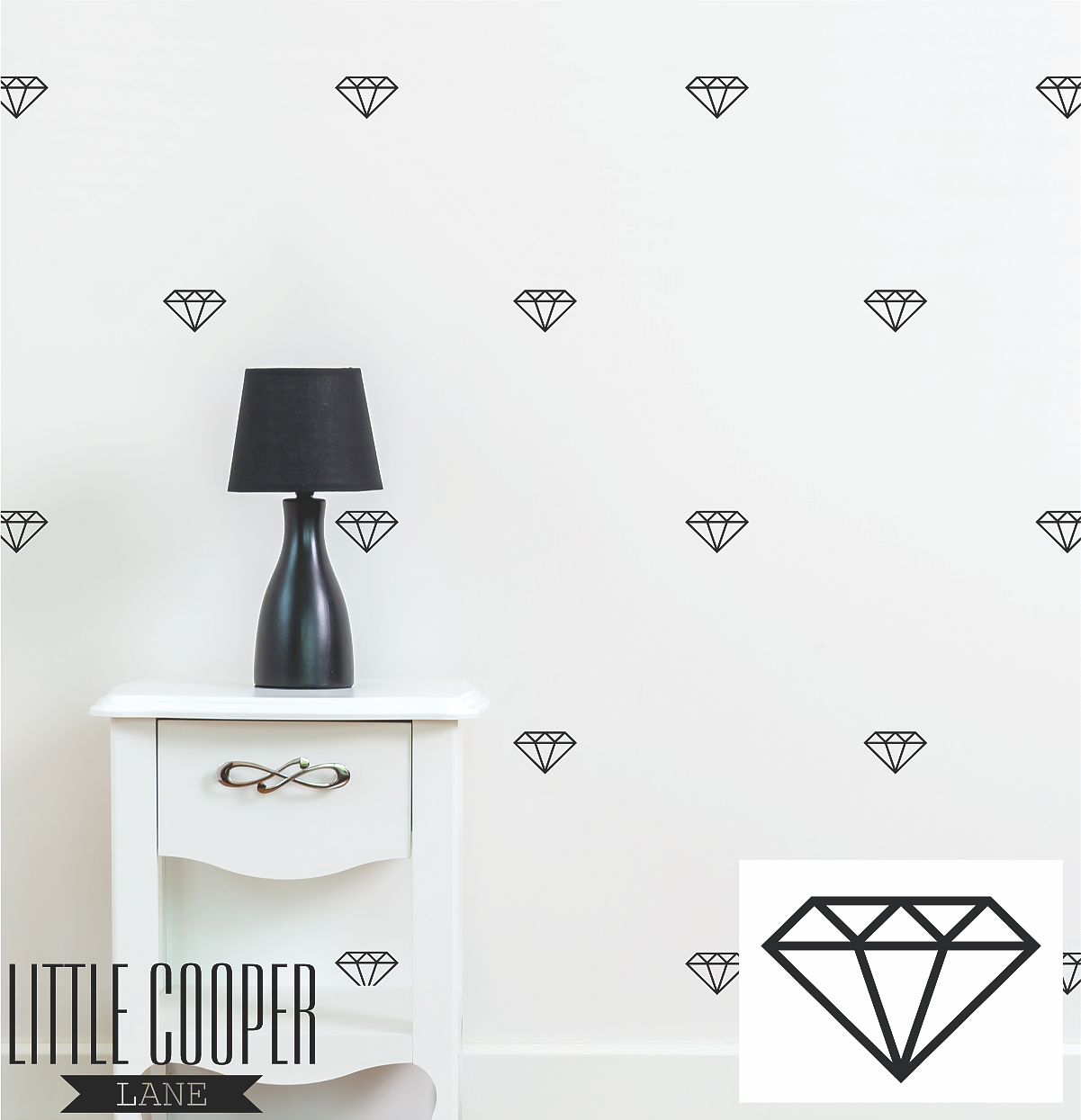 Removable Vinyl Wall Decal.