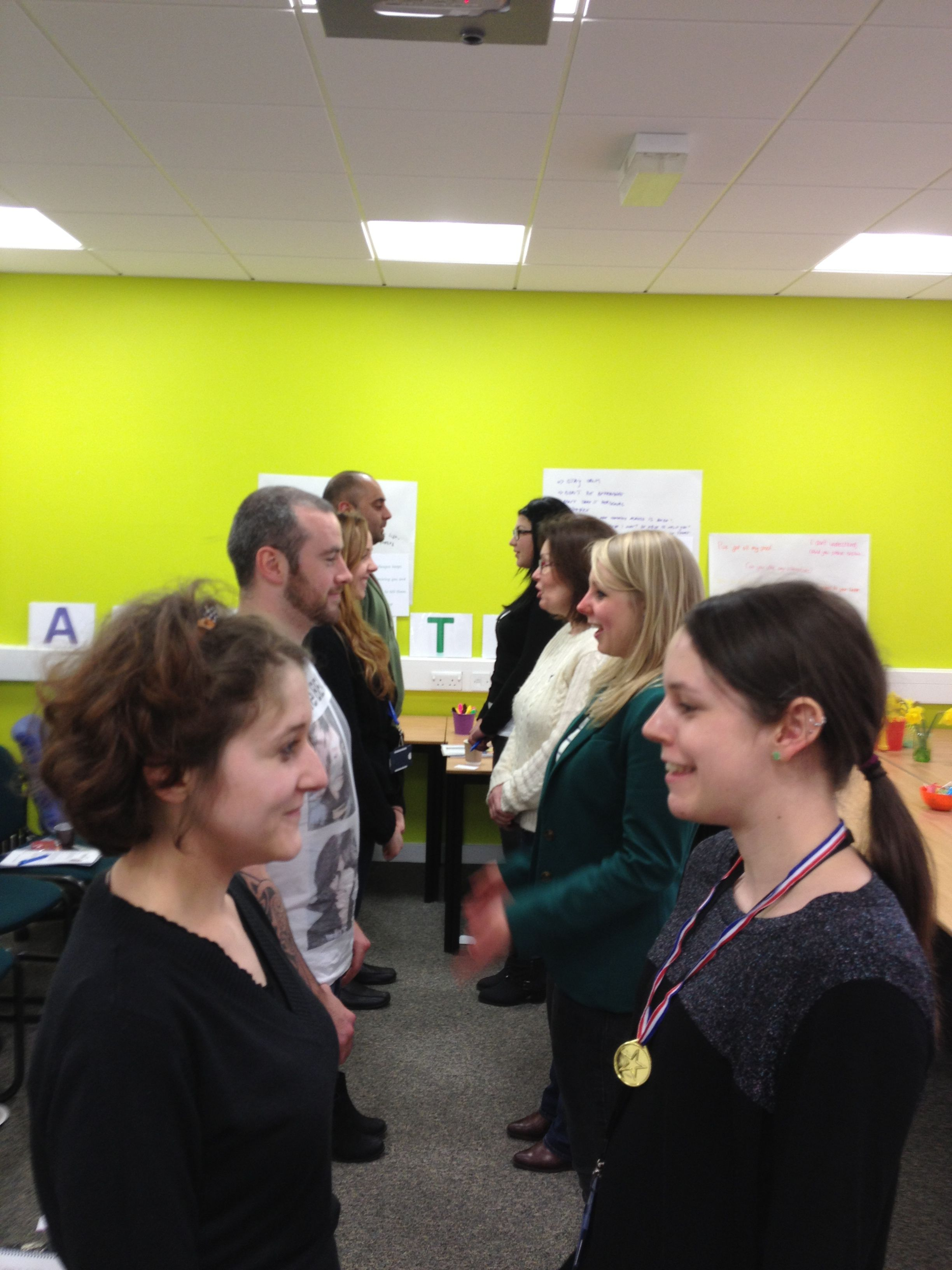 One of our favourite exercises in assertiveness training