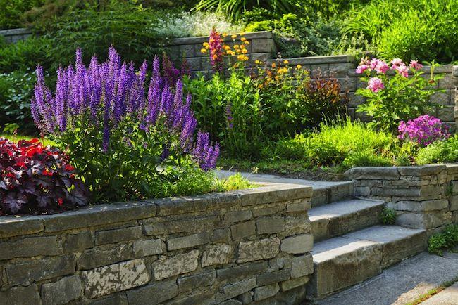 Retaining Walls 101 Stone Landscaping Small Backyard Landscaping Hardscape