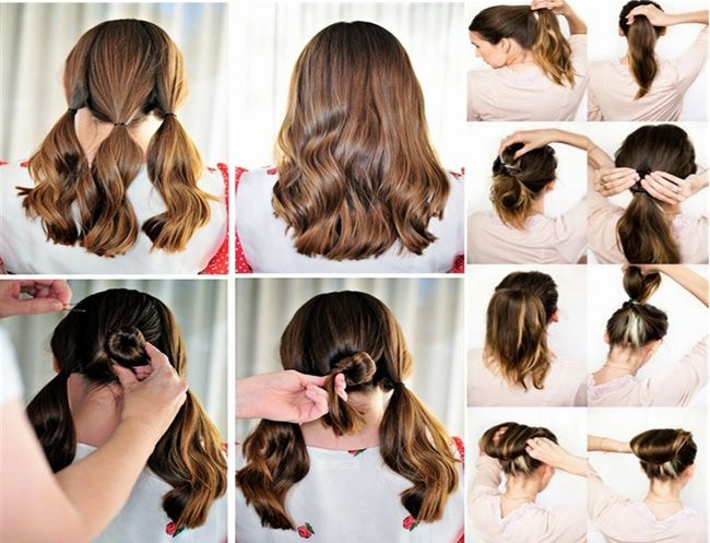 Step By Step Hairstyles For Women Hairstyles Gallery Site Harfarge