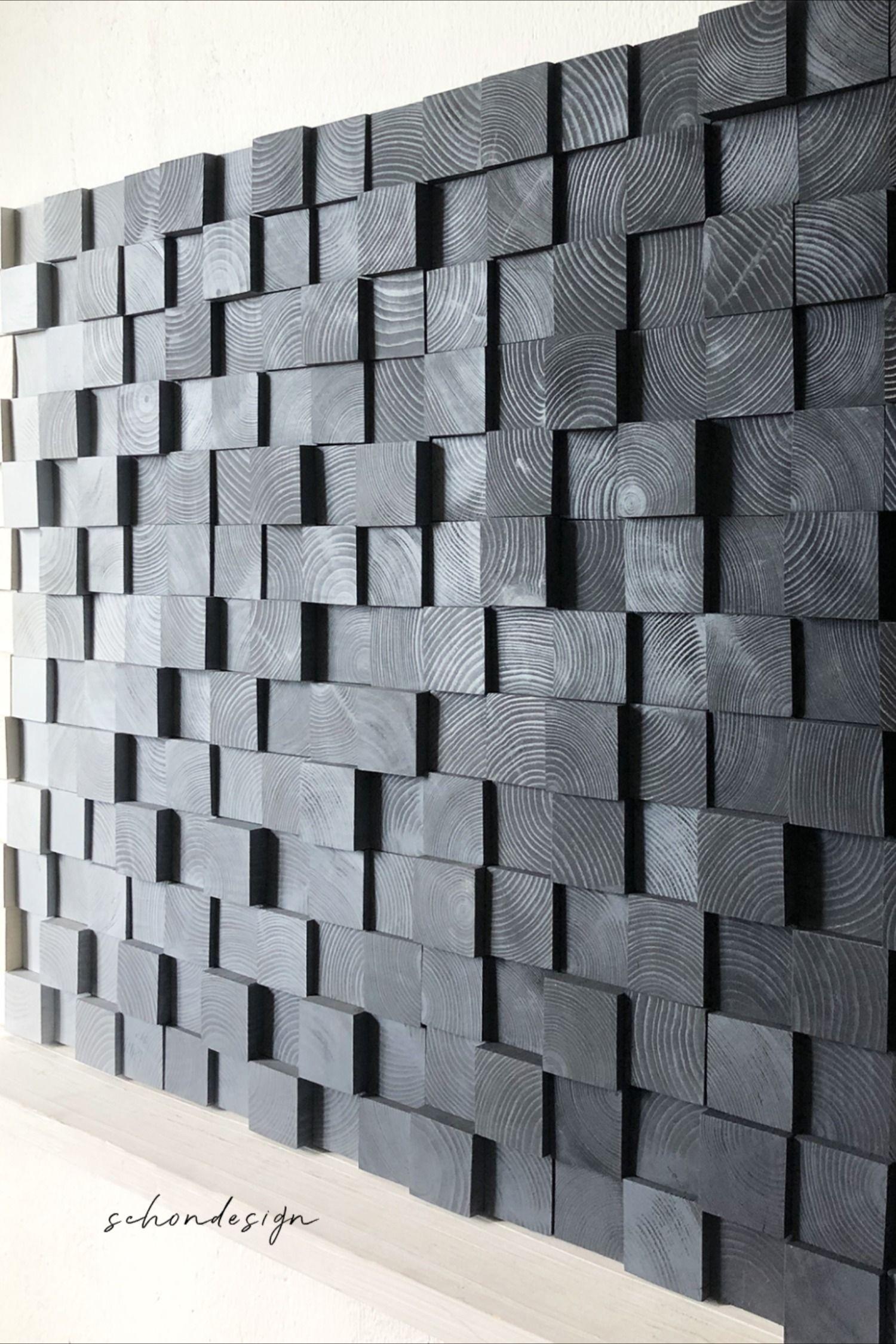 Space Gray Wood Wall Art Wall Art Wood Wall Decor Large Etsy Wood Wall Decor Wood Wall Art Grey Wood