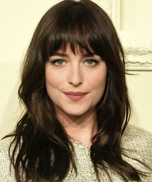 8 Of The Most Stunning Full Fringe Hairstyles 2018 For Women With Long Hair Hair And Comb Bangs With Medium Hair Medium Hair Styles Thick Hair Styles