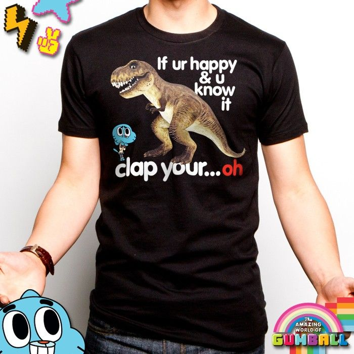 Tina rex top If ur happy & u know it clap your.
