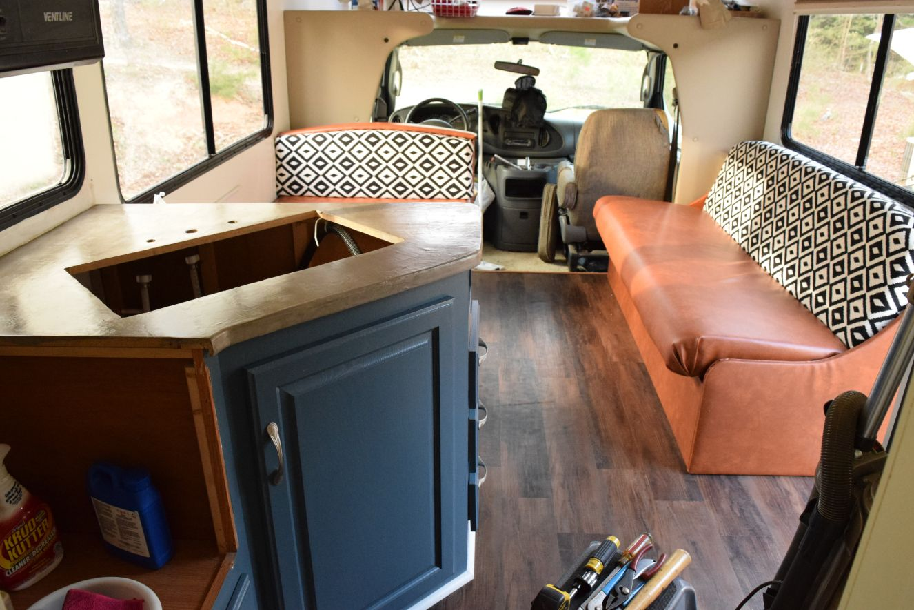 Just Screw It (RV seating reupholstery) in 2020